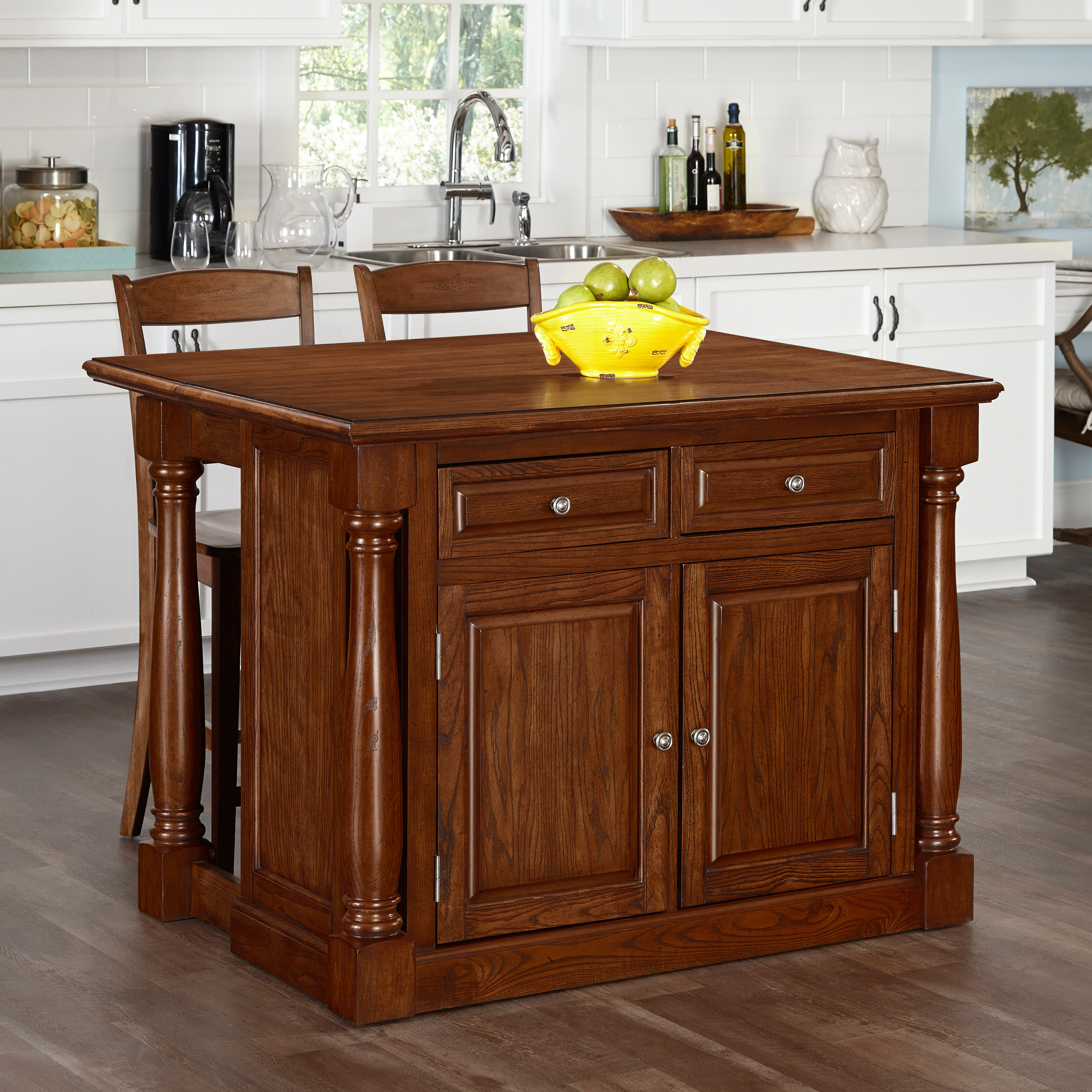 monarch kitchen island home styles monarch kitchen island with optional stools 14290