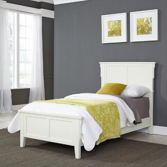 Home Styles Arts and Crafts Panel Bed - Twin