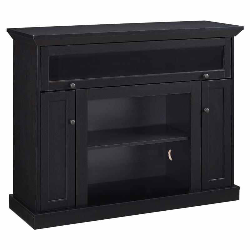 Home Source 46 in. Wood TV Stand - Espresso - TV12355 TAY...