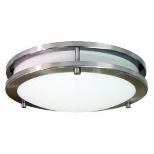 HomeSelects Saturn 2 Light Flush Mount