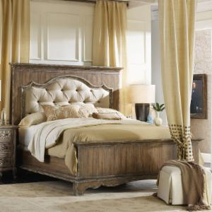 hooker bedroom furniture. Hooker Furniture Chatelet Upholstered Mantle Panel Bed Beds  Hayneedle