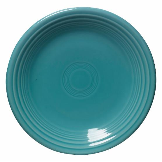 Fiesta Turquoise Salad Plate 7.25 in. - Set of 4