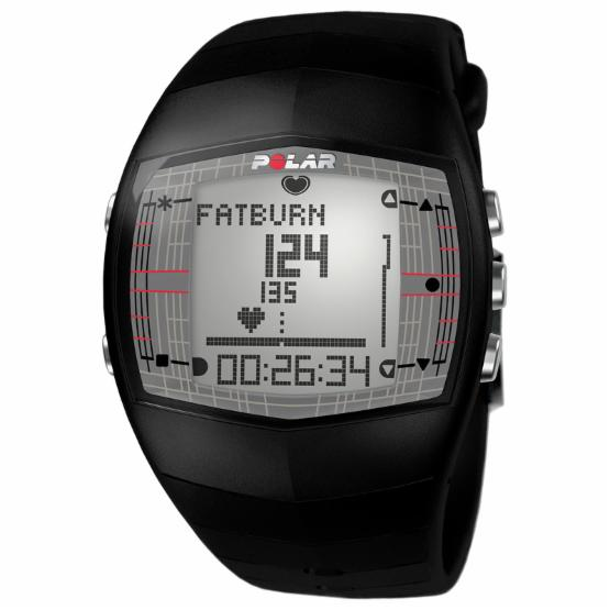 Polar FT40 Mens Black Heart Rate Monitor Watch