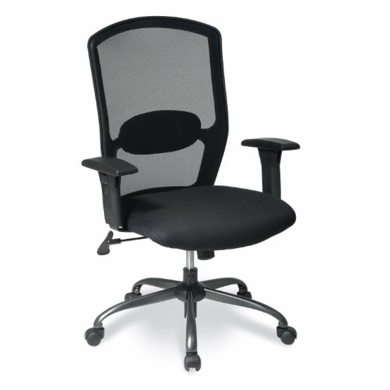 Office Star Work Smart Screen Back Chair with Mesh Seat