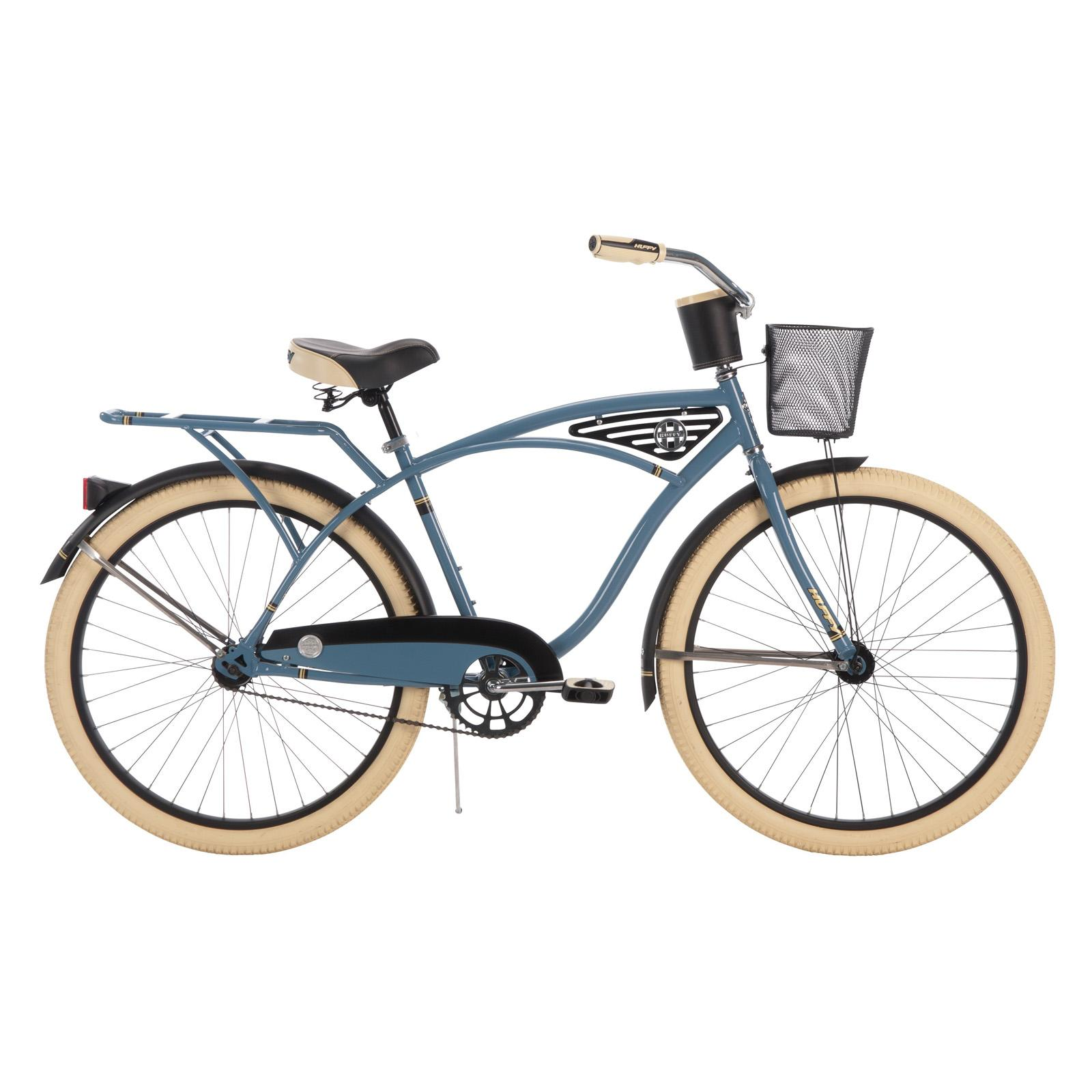 Huffy 26 in. Deluxe Mens Classic Cruiser - Blue - 26647