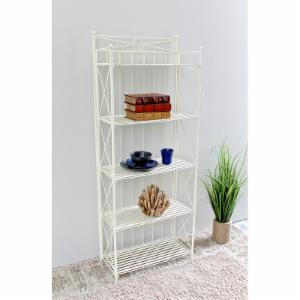 International Caravan Artica 5 Shelf Folding Etagere