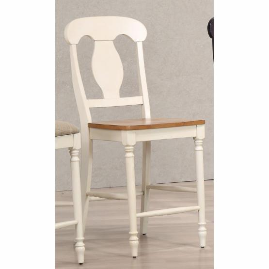 Iconic Furniture Napoleon Back 24 in. Counter Stool