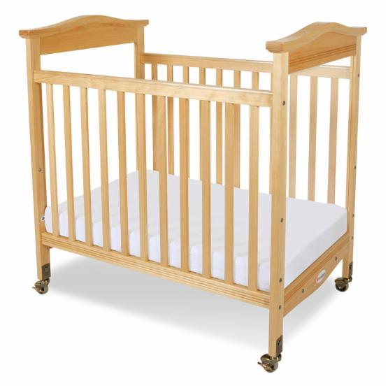 Foundations Biltmore Clearview Compact Crib - Natural