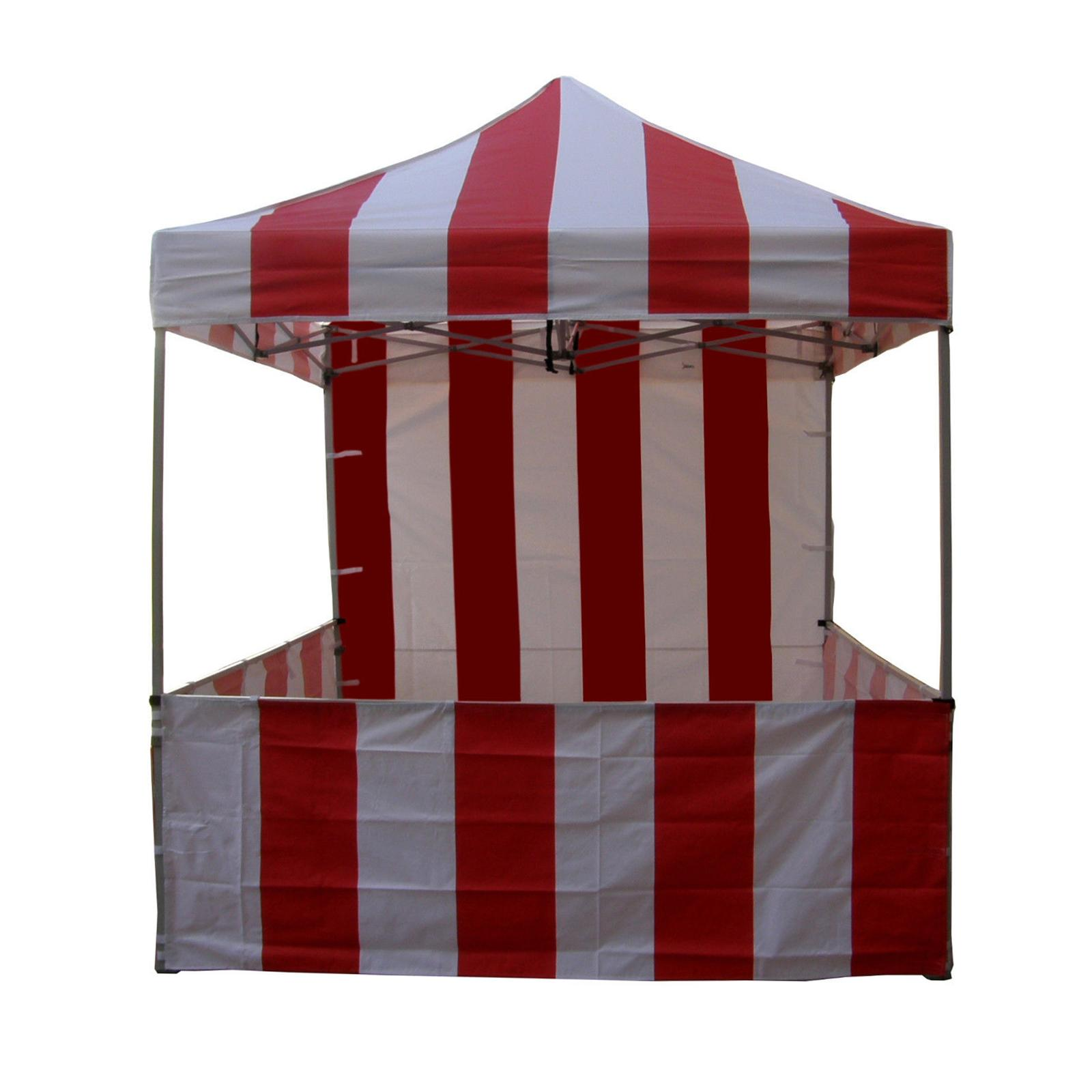 Impact Canopy Carnival 8x8 ft. Pop Up Canopy Tent Vendor ...