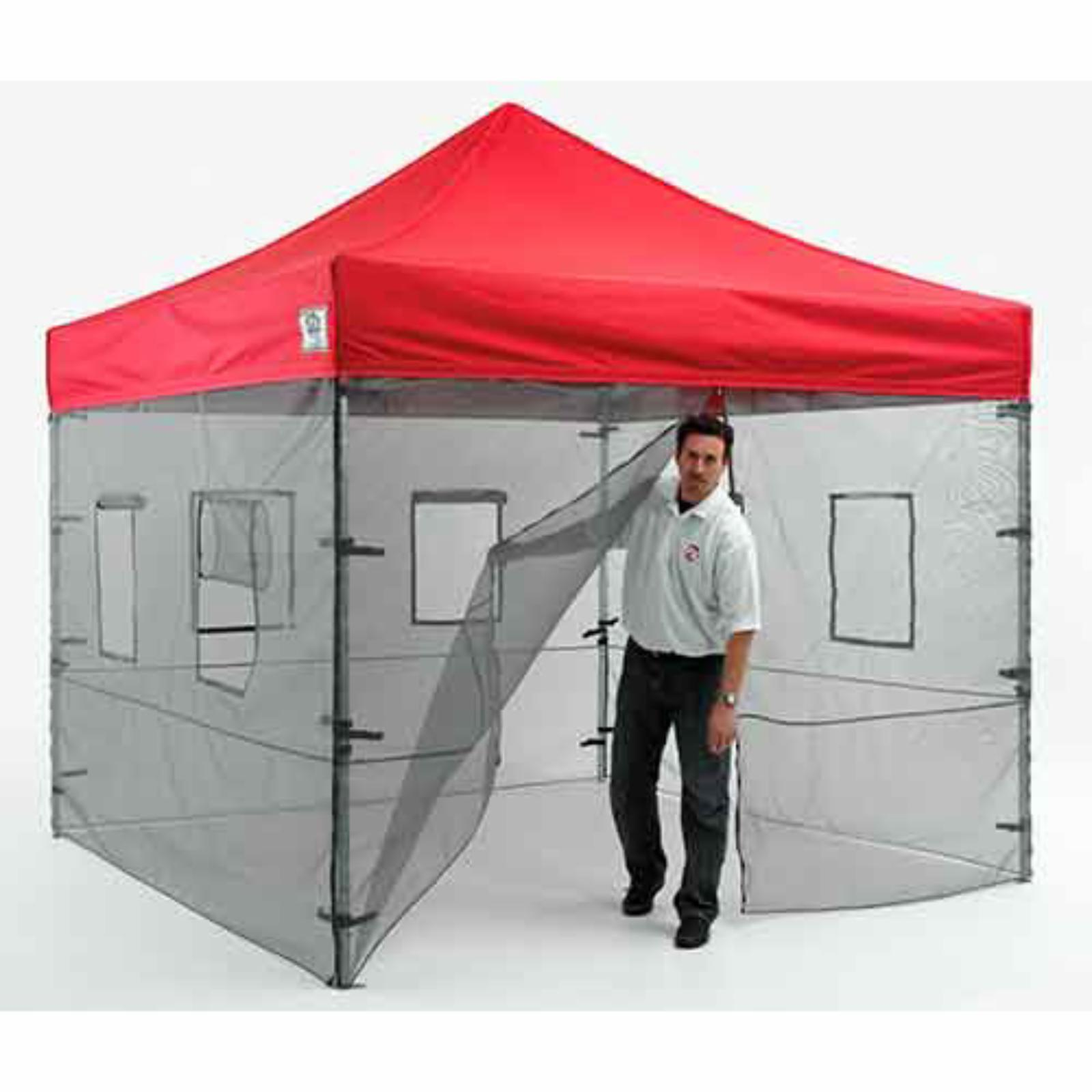 IMPACT Canopy 10x10 ft. Pop Up Canopy Tent Sidewalls Food...