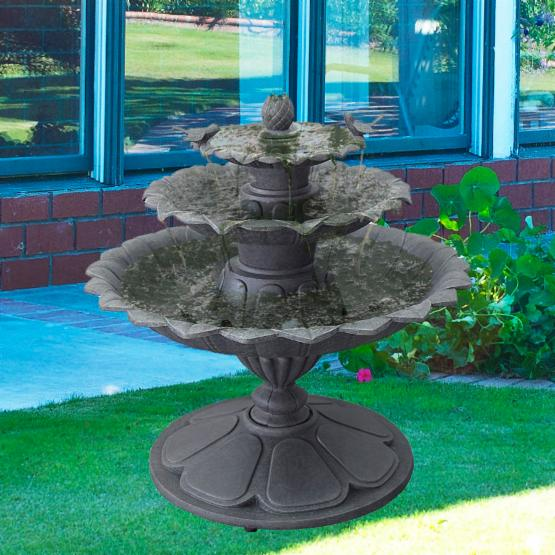 Chino 3-Tier Outdoor Fountain