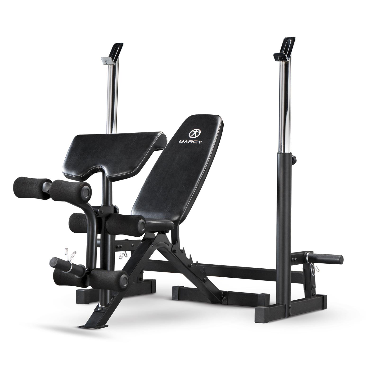 Marcy Deluxe Olympic Weight Bench - MWB-838