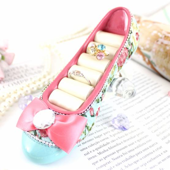 Shabby Chic Flat Shoe Ring Holder