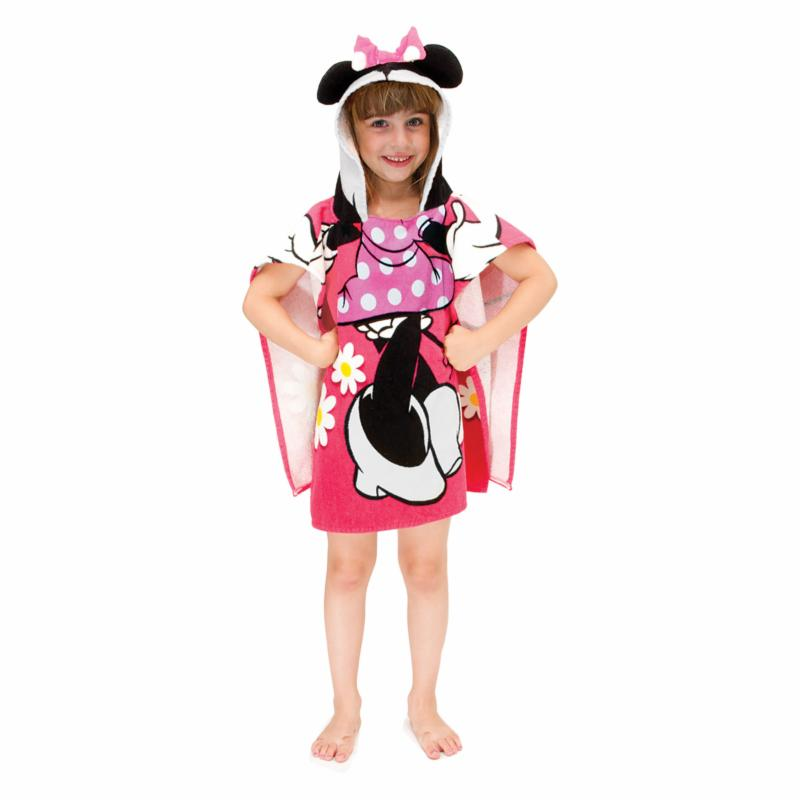 Disney Minnie Mouse Hooded Poncho Towel - JF68739HYML