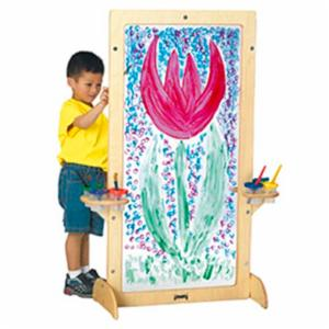 Jonti-Craft See-Through Childrens Easel