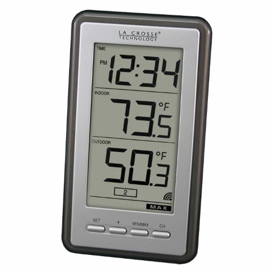 LaCrosse Technology LED Indoor/Outdoor Thermometer
