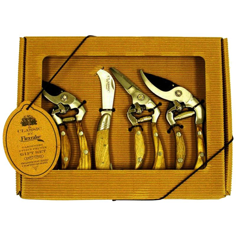Flexrake CLA108 4 Piece Gift Pack Classic Pruners