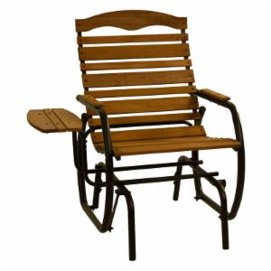 Jack Post Wooden Glider Chair with Tray