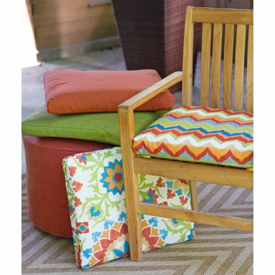 Coral Coast Cantara Outdoor Furniture Seat Pad - 20 x 18 in.