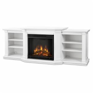 Real Flame Valmont Electric Fireplace - White