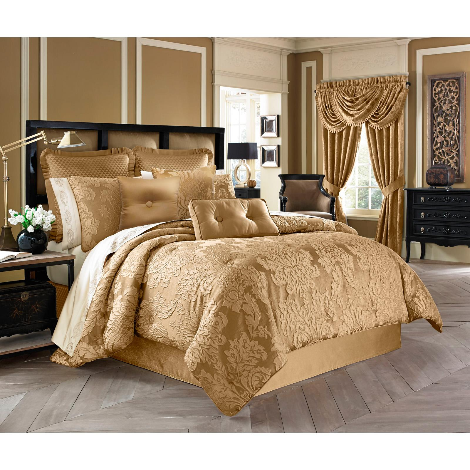 Colonial 4 Piece Comforter Set by Five Queens Court - 205...