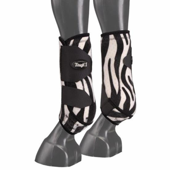 Tough-1 Extreme Fun Prints Front Vented Sport Boots - Set of 2