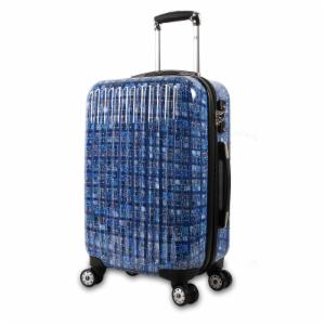 J World Titan 20 inch Polycarbonate Carry-on Art Luggage