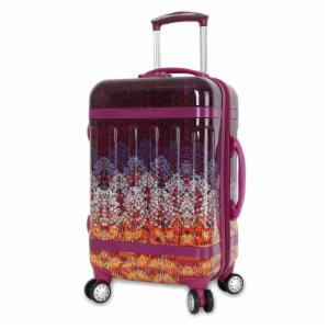 J World Taqoo Polycarbonate Carry on Art Luggage