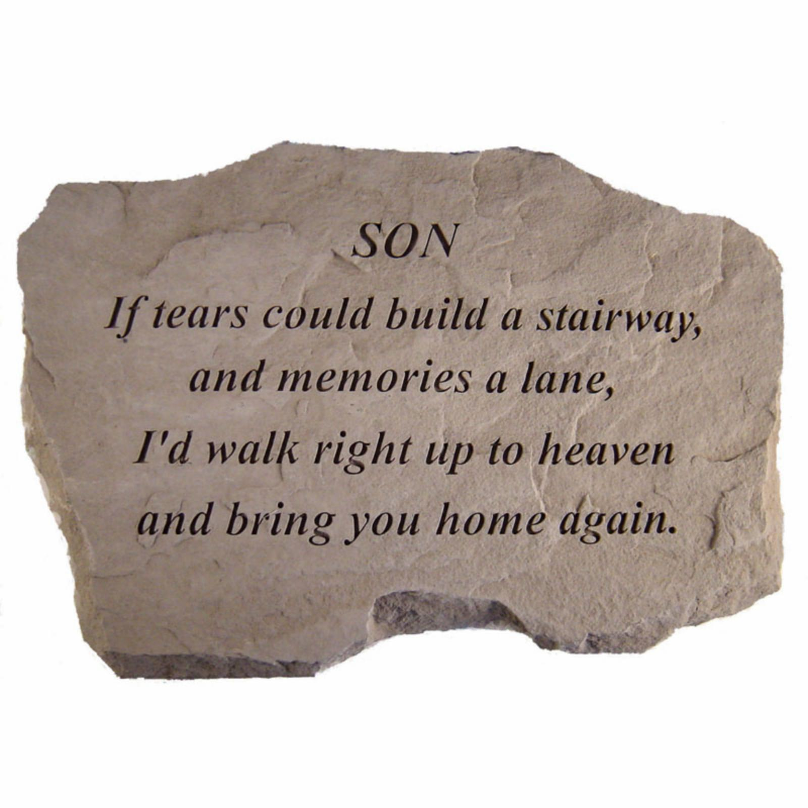 Kay Berry If Tears Could Build A Stairway Memorial Stone ...
