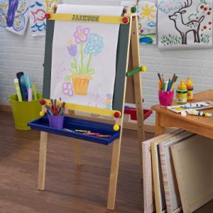 KidKraft Personalized Artist Easel with Paper
