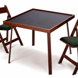 Kestell O-DT35 Oak Domino and Game Table - 35 Inch