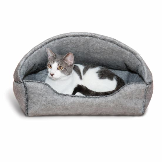 K&H Pet Products Amazing Kitty Hooded Lounger