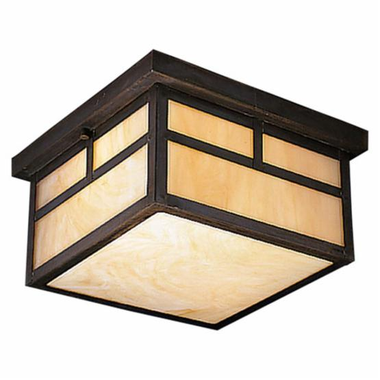Kichler Alameda Outdoor Ceiling Light - 6.5H in. Canyon View, ENERGY STAR