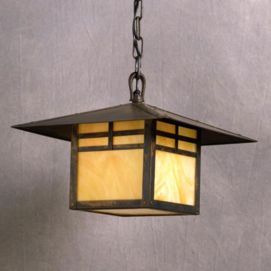 Kichler La Mesa Outdoor Pendant Light - 10H in. Canyon View