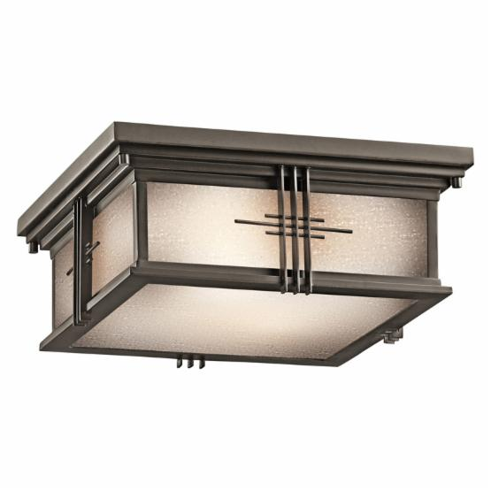 Kichler Portman Square 49164 Outdoor Ceiling - 12 in.
