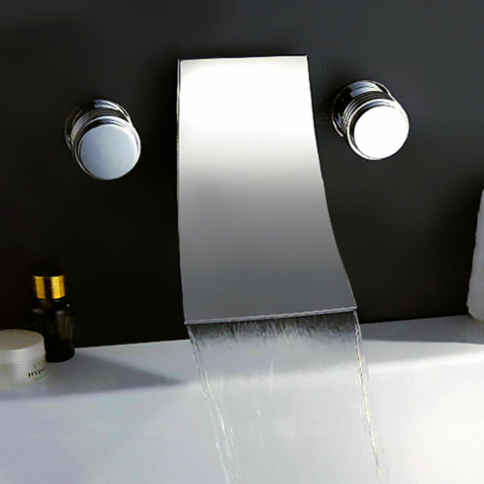 Wall mount roman tub faucet waterfall | Faucets | Compare Prices at ...