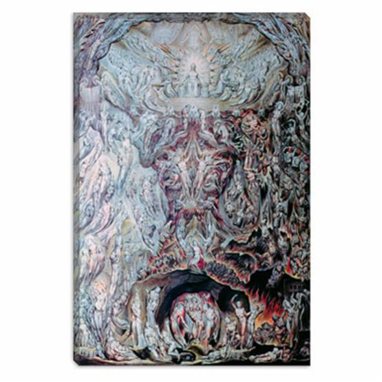 Last Judgement by William Blake Canvas Painting
