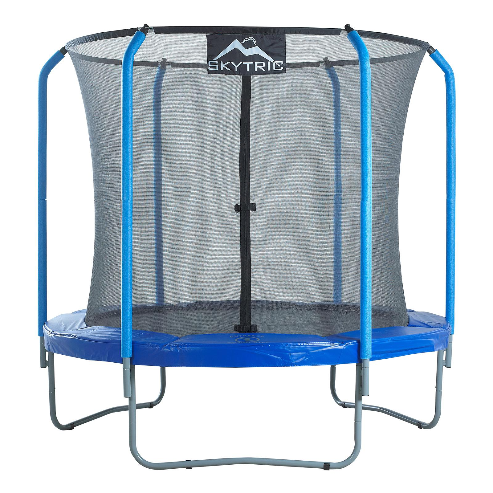Upper Bounce 8 ft. Trampoline with Top Ring Enclosure - UBSF02-8
