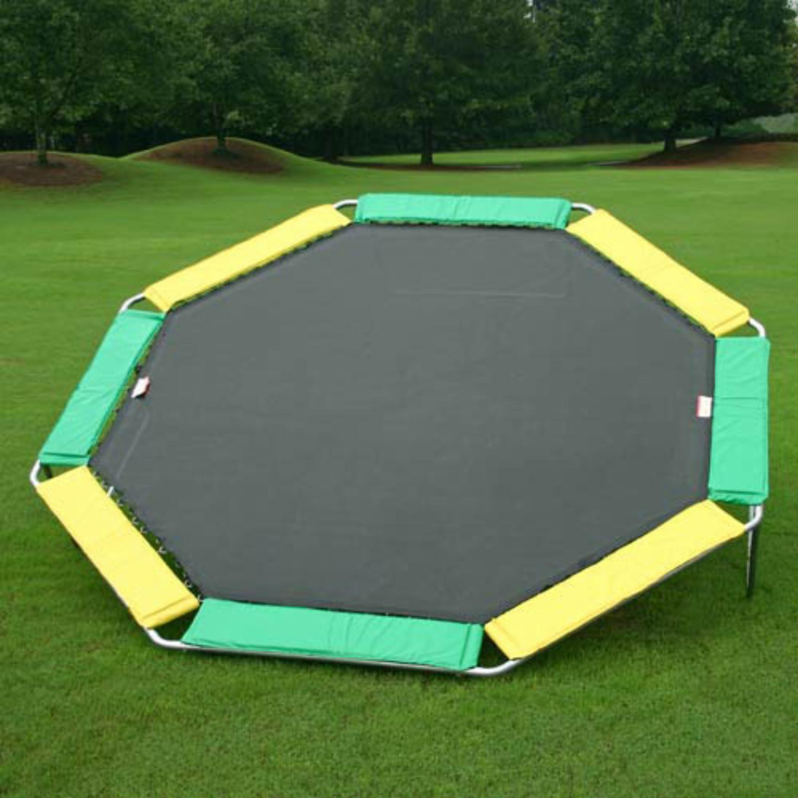 Kidwise Magic Circle Octagon 16-ft. Trampoline with Optional Enclosure - Without Enclosure - MCT16O