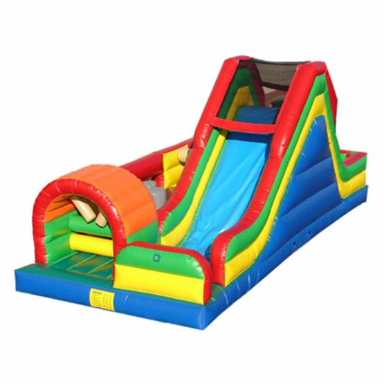 Kidwise Single Lap Obstacle Challenge Interactive Inflatable