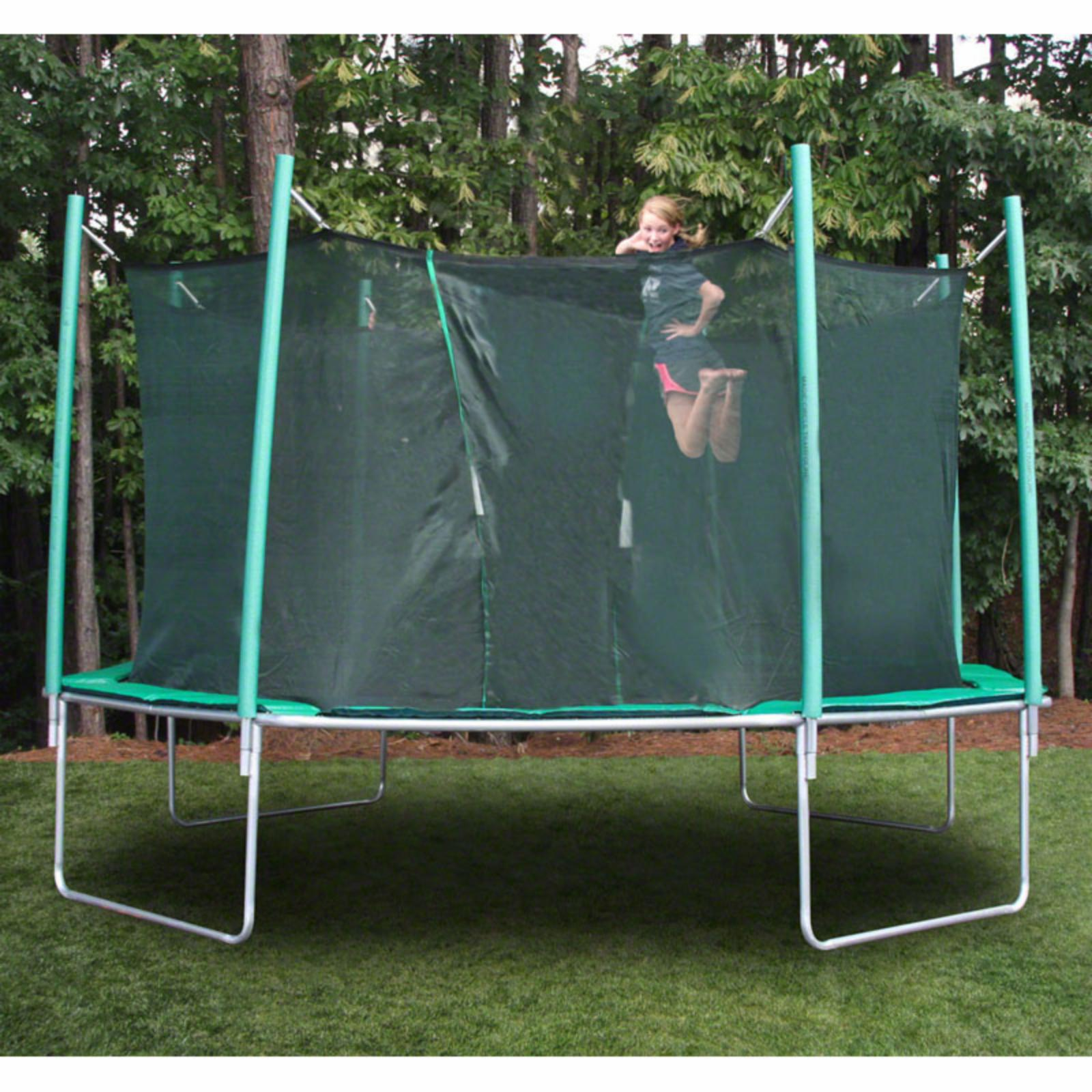 SportsTramp Extreme 16 ft. Octagon Trampoline with Detachable Cage - STE-16-OC