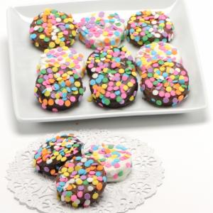 Confetti Belgian Chocolate Drenched Oreos