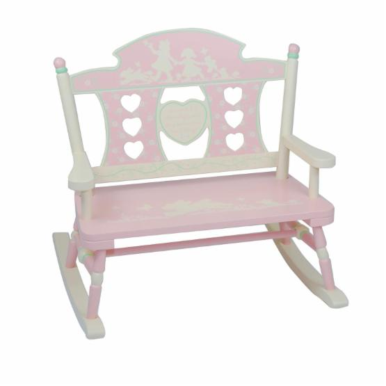 Levels of Discovery Rock-A-My-Baby Double Bench Rocker