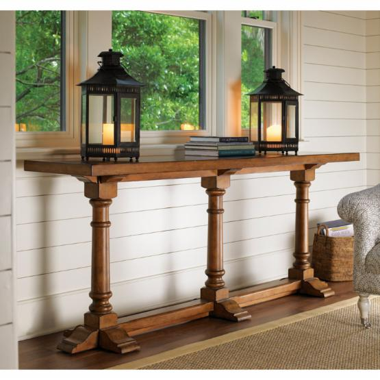 Lexington Home Brands Twilight Bay Veronica Console Table - Saddle Brown