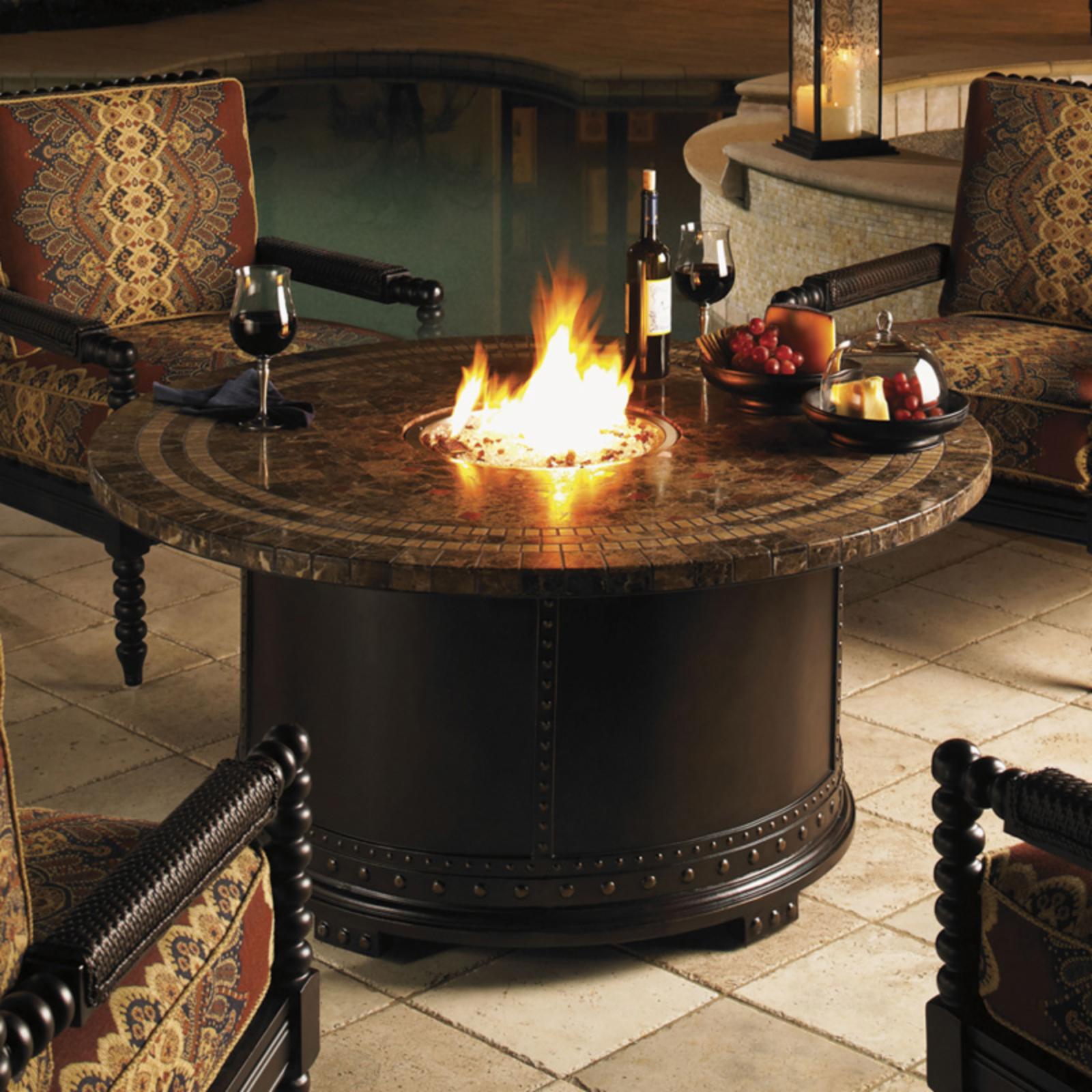 Tommy Bahama Kingstown Sedona Gas Fire Pit - 3190-920FG