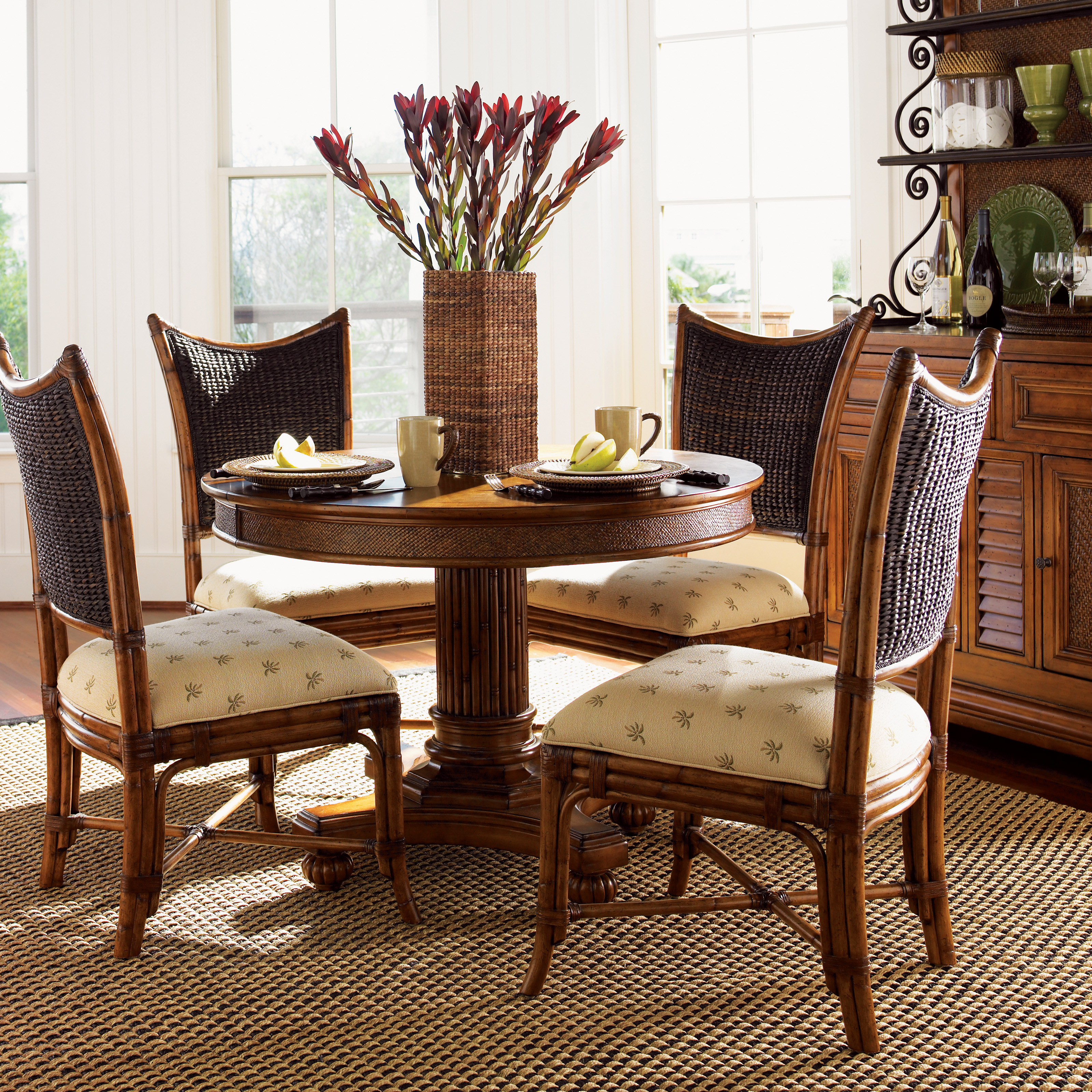 Captivating Tommy Bahama Island Estate 11 Piece Dining Set With 10 Mangrove Chairs |  Hayneedle Part 13