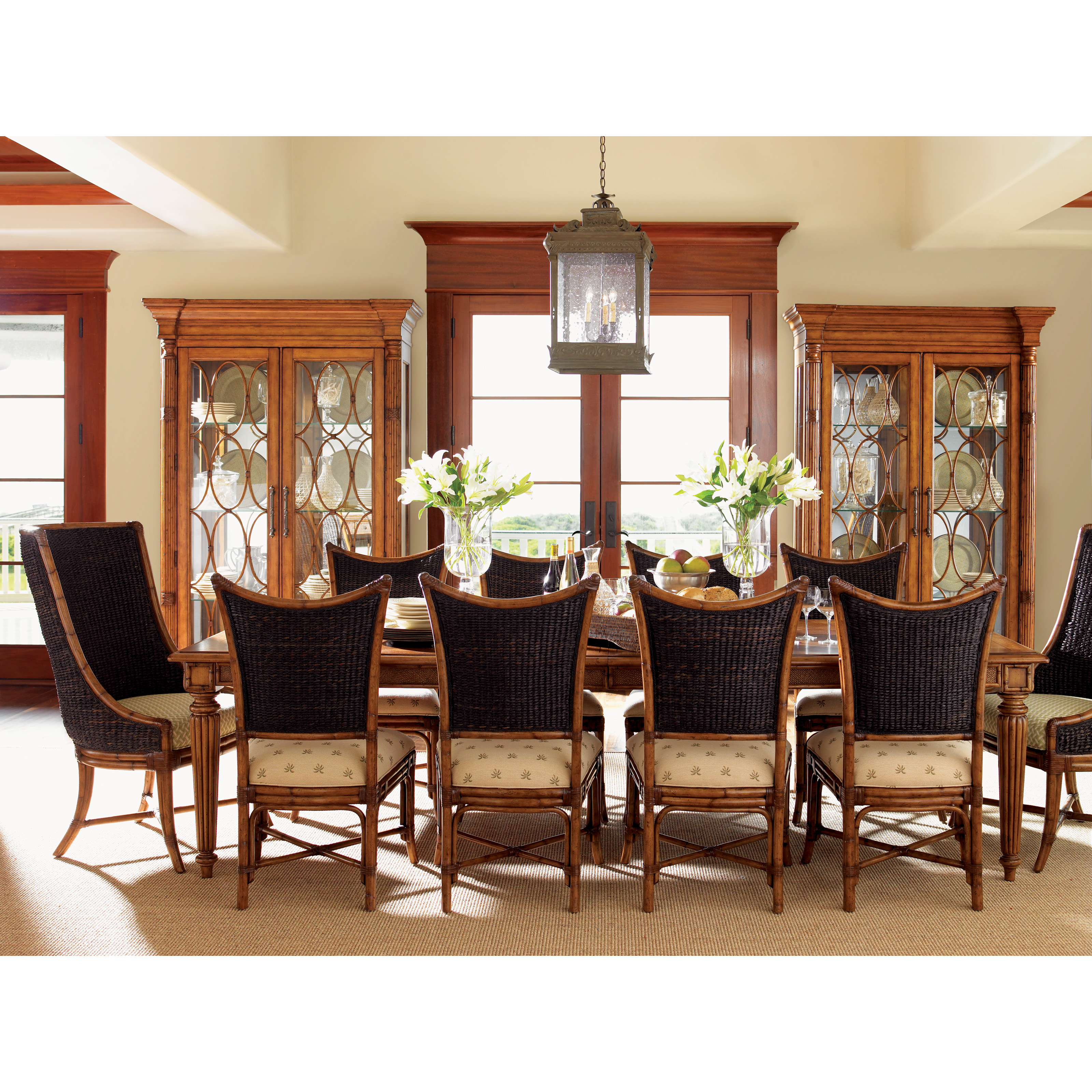 QUICK VIEW. Tommy Bahama Island Estate 11 Piece Dining Set With Mangrove U0026  Cruz Host Chairs. $9,989.00 Part 11