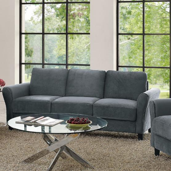 Lifestyle Solutions Warren Sofa with Rolled Arm