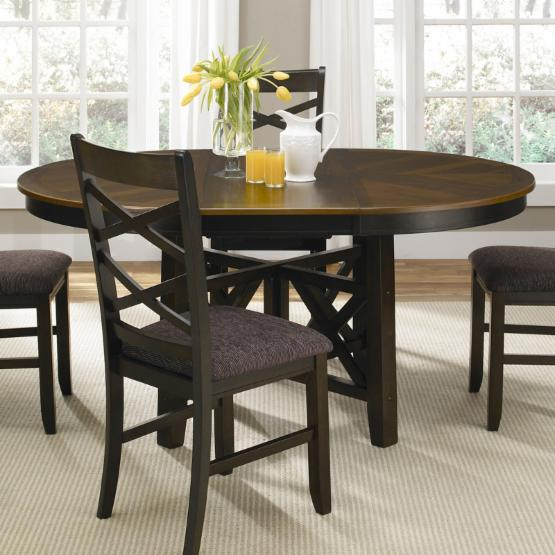 Liberty Furniture Bistro II Oval Pedestal Dining Table