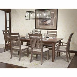 Legacy Brownstone Village Rectangular Dining Table